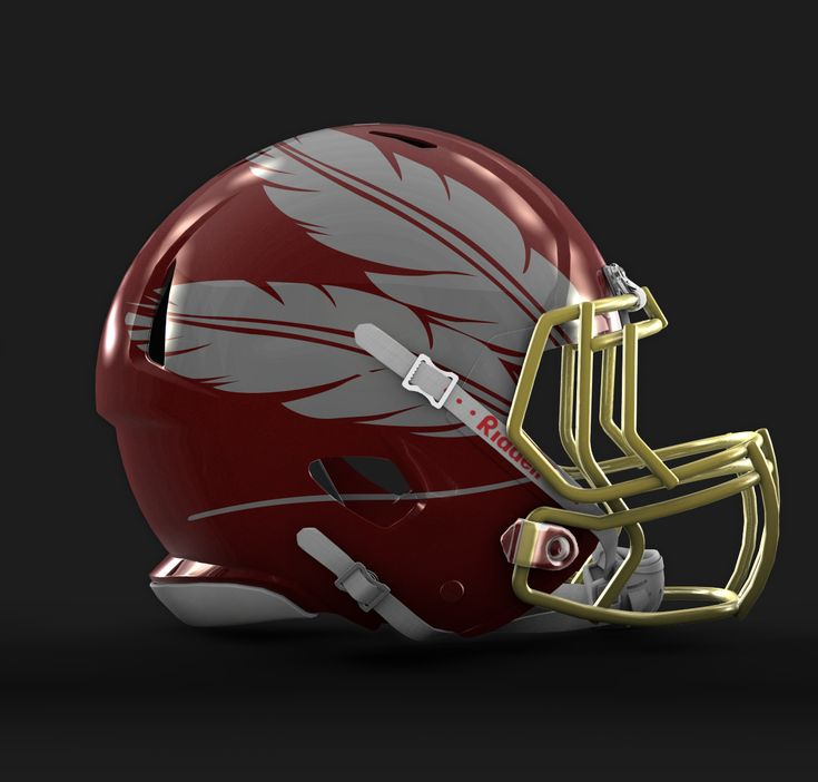 Check out this behance project redesigned nfl helmets