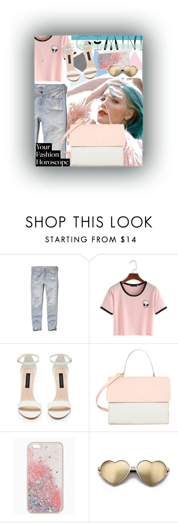 """Gemini"" by karimaputri on Polyvore featuring Abercrombie & Fitch, Eddie, Wildfox, fashionhoroscope and stylehoroscope"