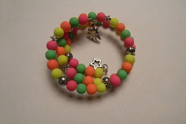 Easy Tutorial on Making a Colorful Beaded Wrap Bracelet - Pandahall.com by wanting