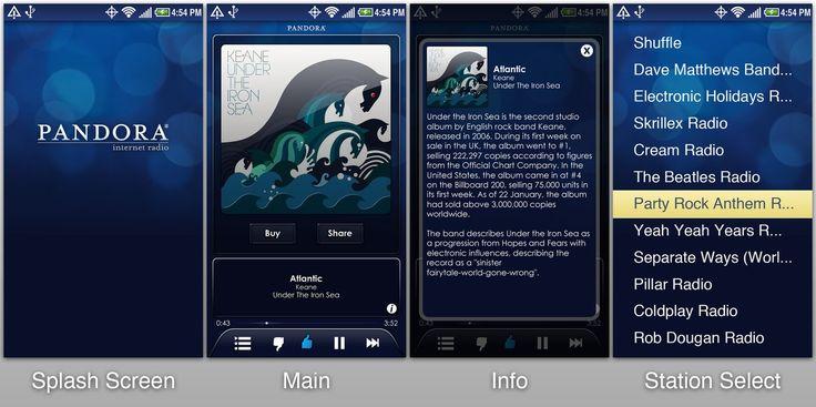 Pandora Internet Radio Android App Download