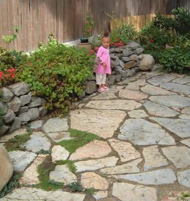Zen Rock Garden Design Bay Area California