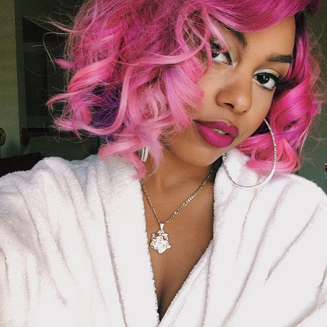 127 Best Bahja Images On Pinterest Coloured Hair Omg Girlz And