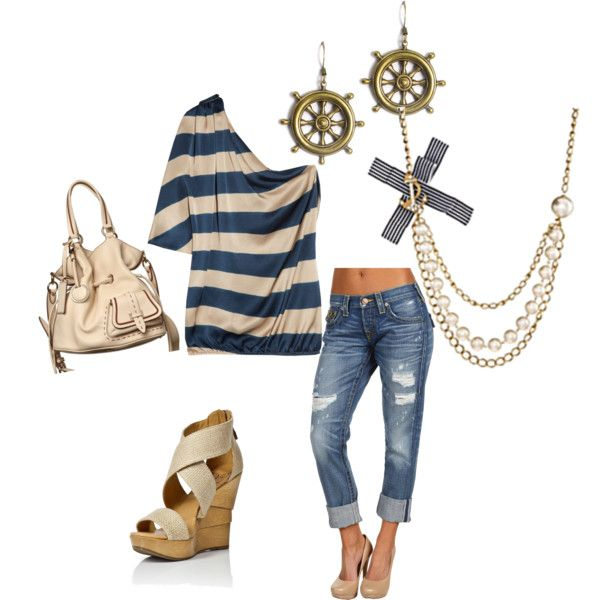 Nautical style: Shoes, Style, Nautical Casual, Shirts, Nautical Outfits, Summer Outfits, Closet, Sailors, Nautical Theme