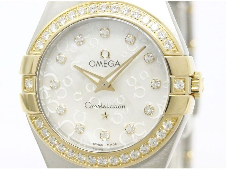 Polished #OMEGA Constellation Brushed Diamond Watch 123.25.27.60.55.009 (BF107804): Authenticity guaranteed, free shipping worldwide & 14 days return policy. Shop more #preloved brand items at #eLADY: http://global.elady.com