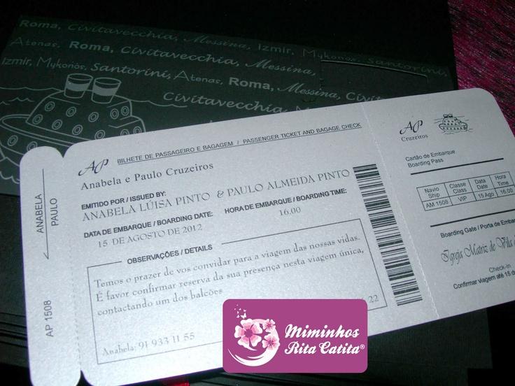 Miminhos Rita Catita Brindes e Convites: Tema Viagens / Carros / Motas