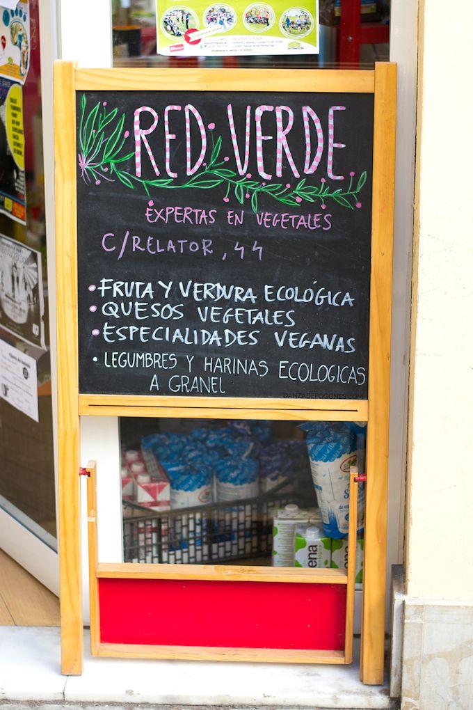 Red Verde es una tienda vegana situada en el centro de Sevilla
