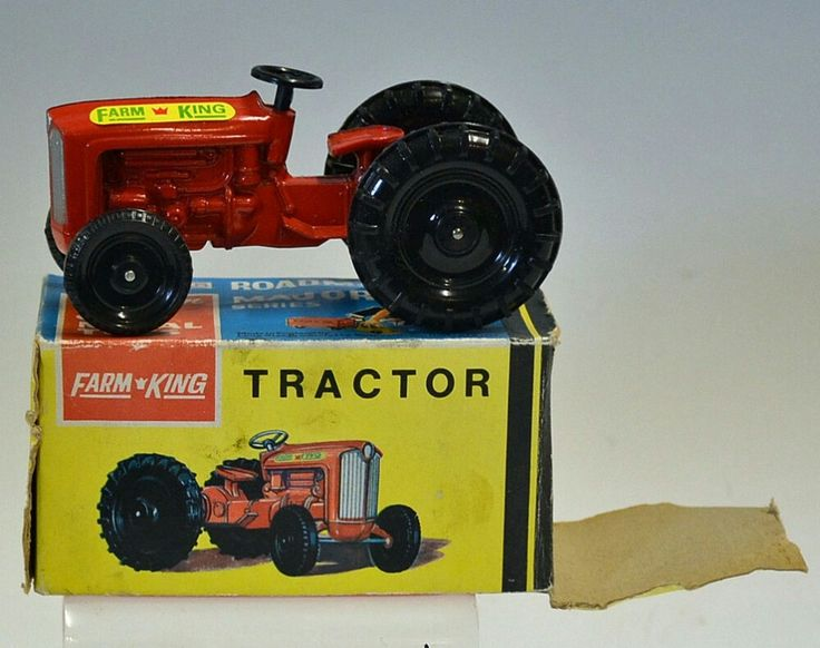 Lone Star Farm King Tractor Roadmaster Major Series precision die cast metal toys in original box