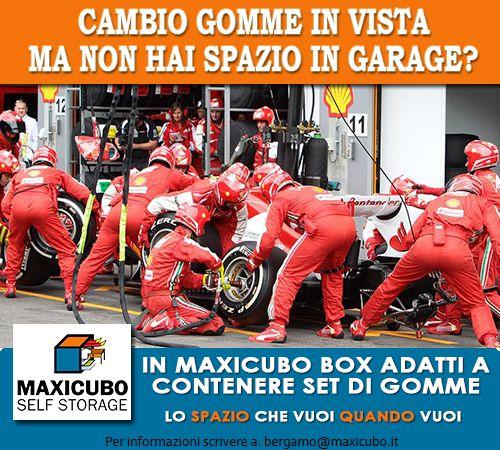Cambio #gomme in vista ma non hai spazio in garage?  #Maxicubo #SelfStorage