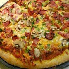 Super pâte à pizza, à la machine à pain @ qc.allrecipes.ca