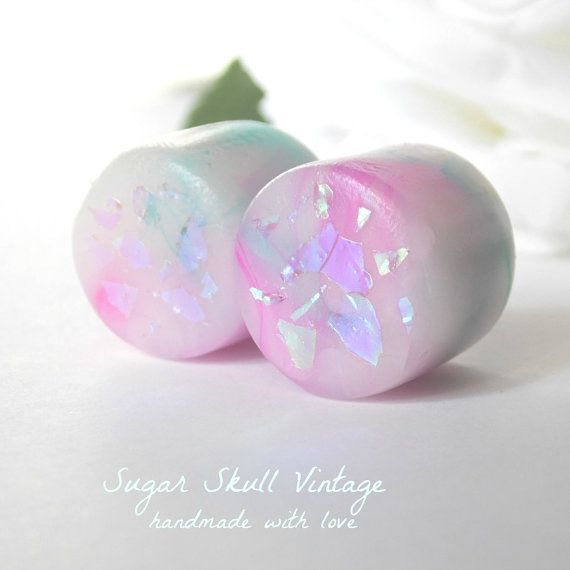 """Opal Plugs - Opal Gauges - Made to Order 6, 4, 2, 0, 00, 7/16, 1/2, 9/16, 5/8, 3/4, 7/8, 1"""" on Etsy, $20.25 CAD"""