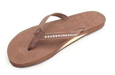Rainbows are one of the most durable flip flop and are still cute