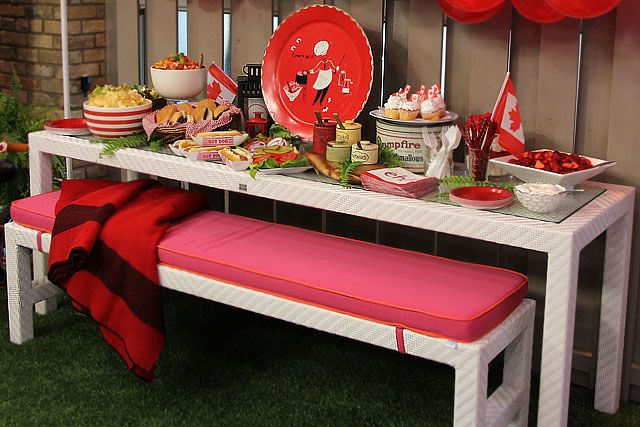 The Marilyn Denis Show   Entertaining   Party Tips and Tricks for Canada Day
