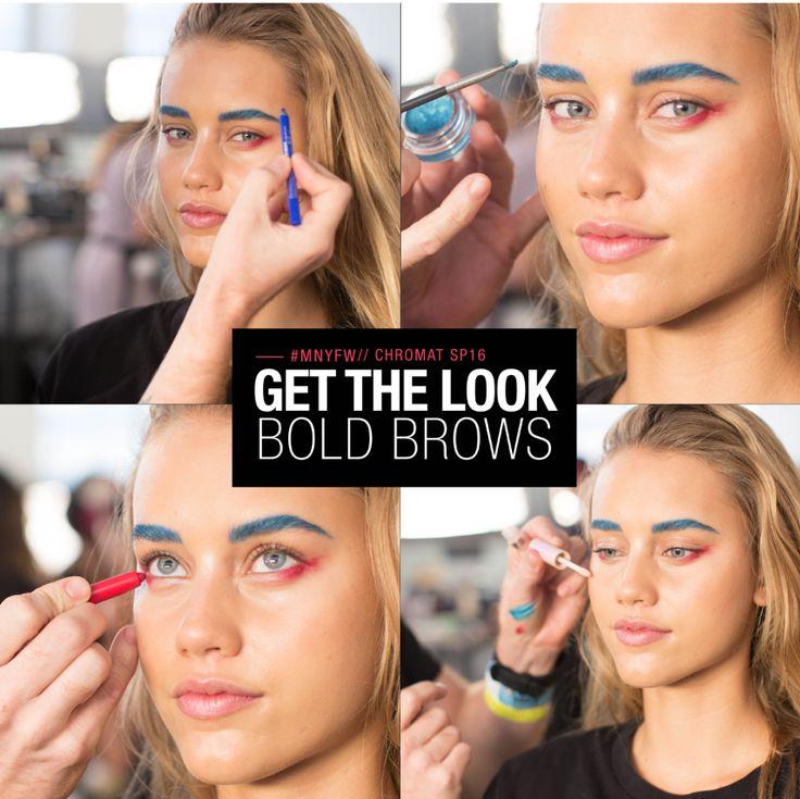 Estas son las próximas tendencias en maquillaje de #MNY directas del #NYFW