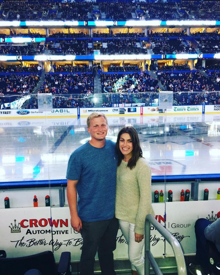 new years eve at the lightening game thank you em_nandez for sharing your tickets