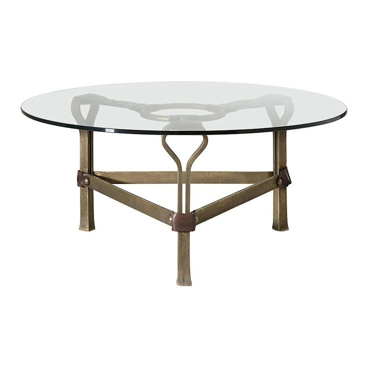 The Saddler Coffee Table Exclusively Available Arhaus