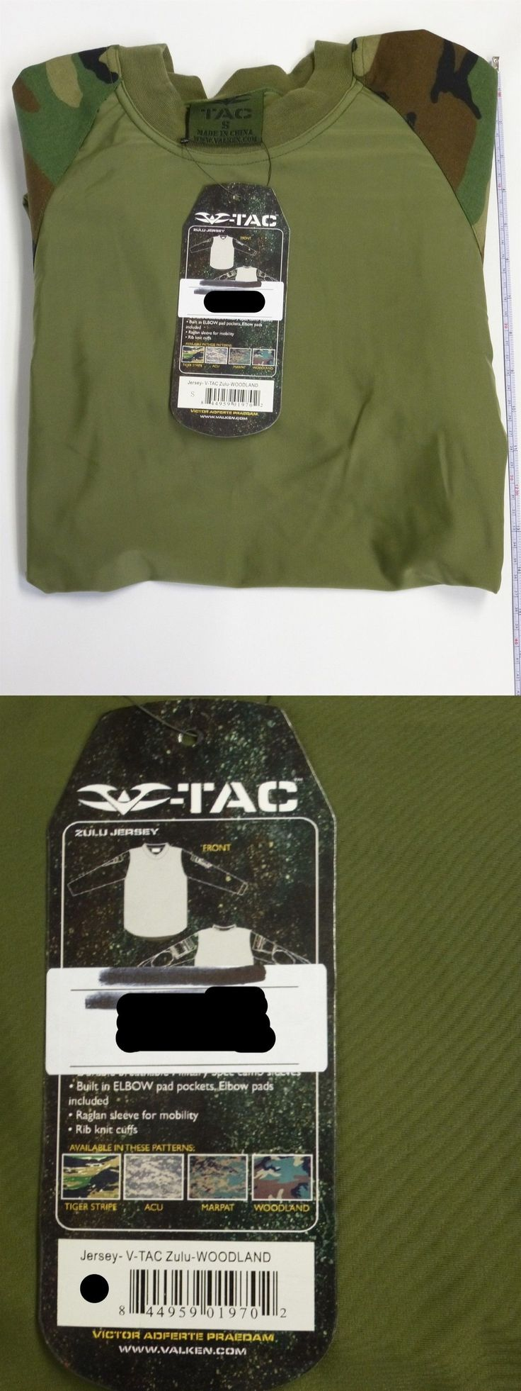 Jerseys and Shirts 165939: Valken V-Tac Paintball Jersey Zulu Woodland Small New -> BUY IT NOW ONLY: $58.99 on eBay!