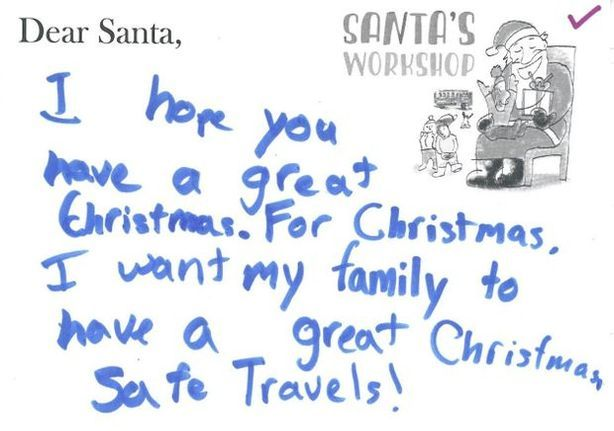 20 Funny Letters To Santa