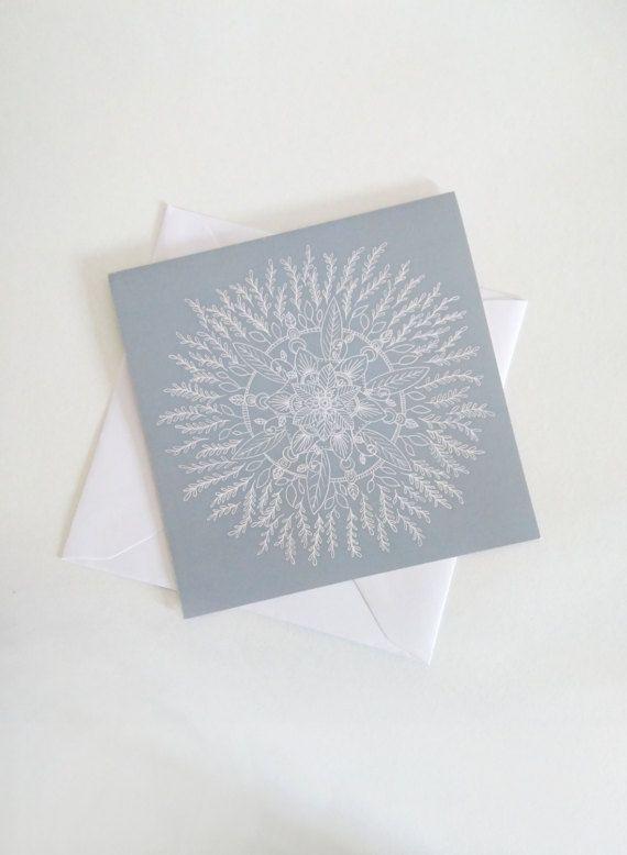 Mandala  Square card