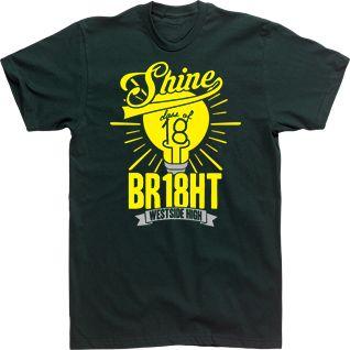 Image Market: Student Council T Shirts, Senior Custom T-Shirts, High School Club TShirts - Choose a Design to Create Custom Senior Class T-shirts. Class of 2018 SHINE BR18HT