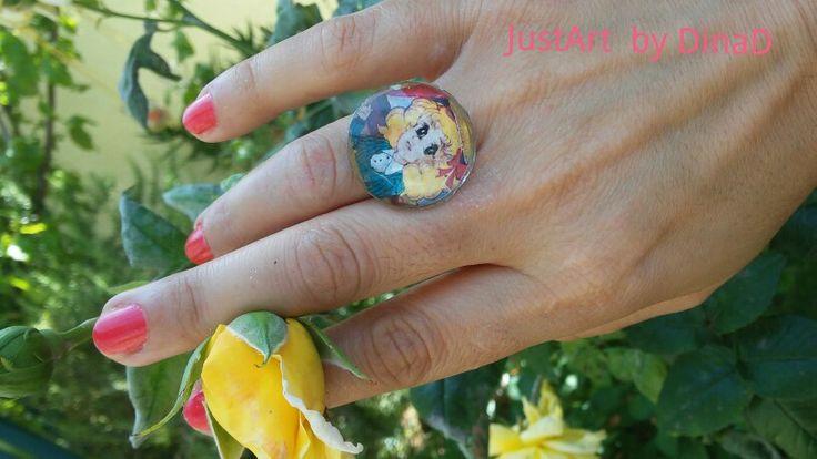 Δαχτυλίδι από υγρό γυαλί.