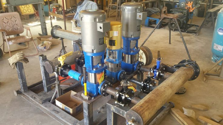 Another, smaller, pump skid.  This one is campground sized.