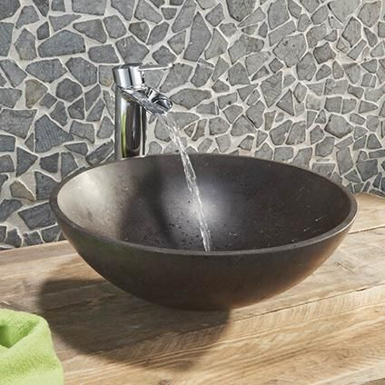 Wastafel https://www.praxis.nl/badkamer-keuken-wonen/badkamer/wastafels-fonteinen/opzetwastafels/aquazuro-opzetwastafel-natuursteen-triversa/5448427
