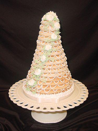 Wedding Cake #2 from Grandma's Bakery #257-Kransekake