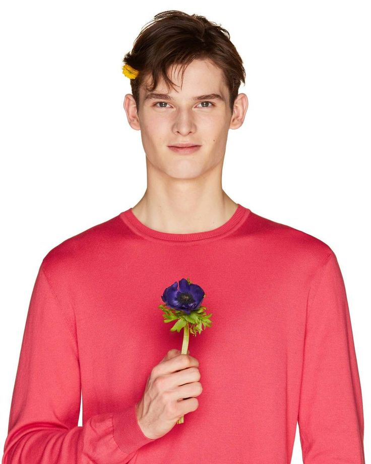 100% #cotton  crew neck #sweater from #Benetton #SS18 #man collection