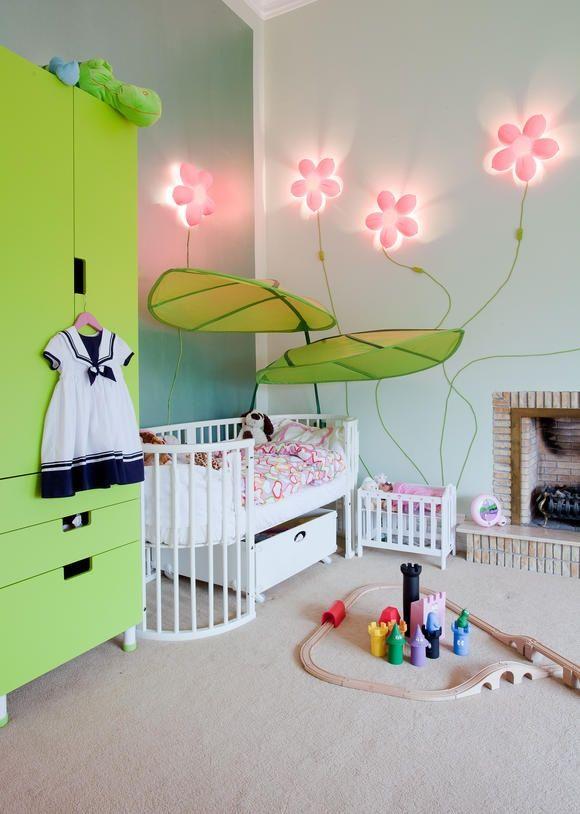 Deko Ideen Babyzimmer Mädchen Neu Deko Kinderzimmer Wand ...