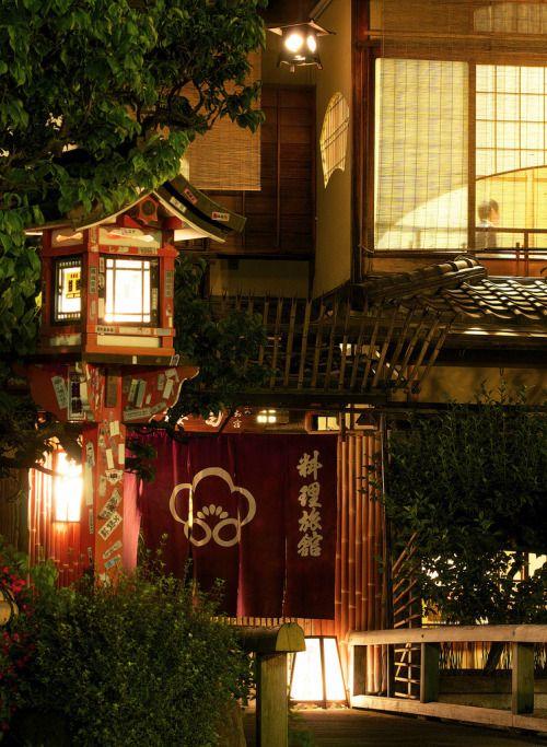 "thebeautyoftheplanetearth:  "" 料理旅館 - 白梅 / Gion Shira-kawa River by Active-U  """