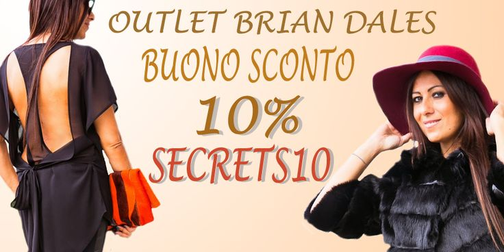 Codice buono sconto Outlet Brian Dales http://www.unconventionalsecrets.blogspot.it/2014/10/lady-in-brian-dales.html