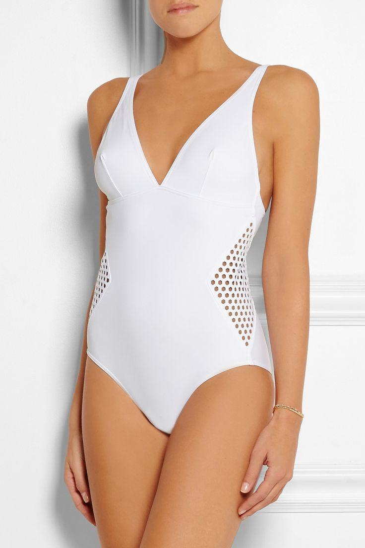 Swimwear Bathing Swimsuits for Women On Sale, White, polyamide, 2017, 10 6 8 Chiara Ferragni
