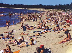 Yteri beach, in Pori, is a popular summer vacation destination Finns. Who knew?