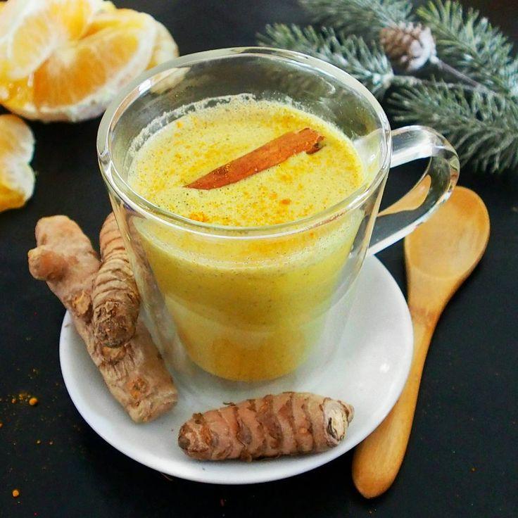 Recettes simples et savoureuses pour profiter des vertus du curcuma à tous les repas. Le curcuma latte ou lait d'or de Mail0ves - MailoFaitMaison.