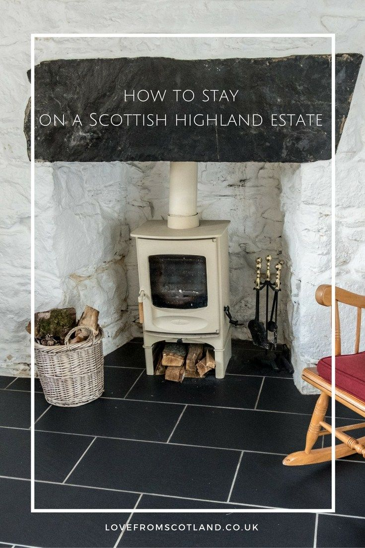 How to stay on a croft on a highland estate in Scotland. A romantic Cottage Scotland via Love from Scotland Blog