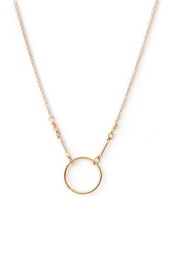 'Karma' Reminder Pendant Necklace /  Dogeared #necklace #jewelry #gold