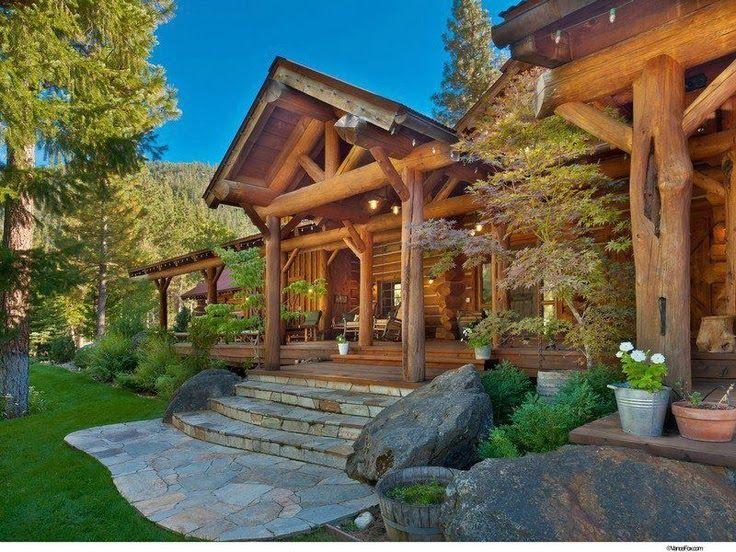 17 meilleures id es propos de maison en rondins sur pinterest maisons cabane en rondins. Black Bedroom Furniture Sets. Home Design Ideas