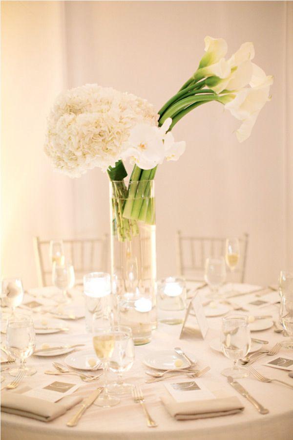 126 best flower arrangements images on pinterest flower for Modern centerpieces