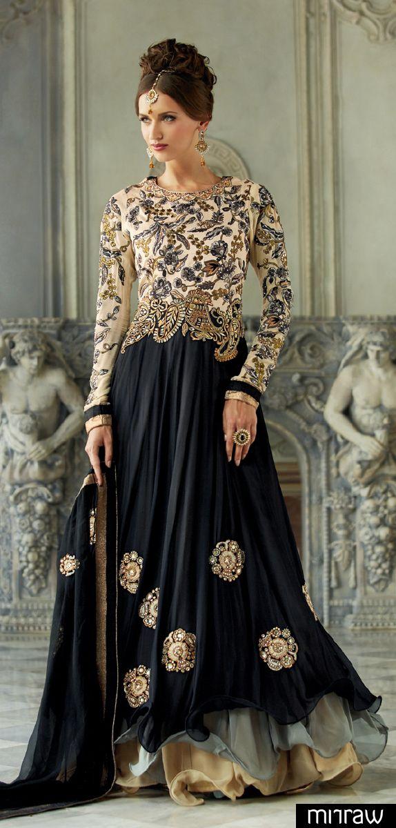 Floor length salwar kameez
