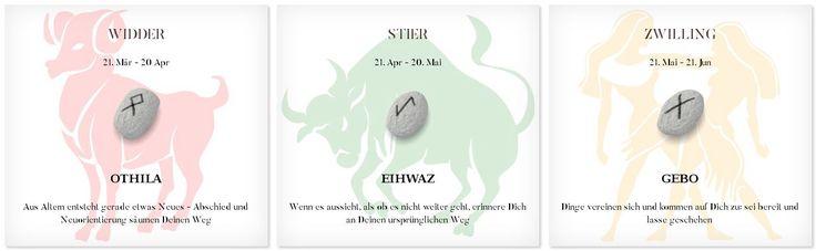 Runen Tageshoroskop 10.6.2017 #Sternzeichen #Runen #Horoskope #widder #stier #zwilling