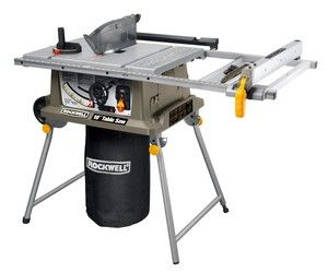 Side by side comparison for Rockwell Table Saw RK7241S vs Bosch 4100-09 Table Saw | compareappliances.biz