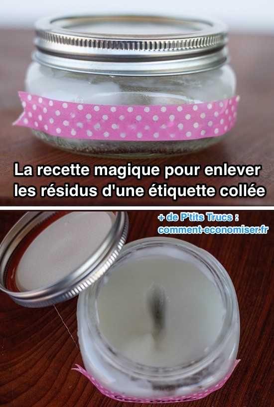 Heureusement, que ce soit sur l'inox, le plastique, le bois ou le verre, il existe un truc pour enlever tous les restes d'une étiquette adhésive.  Découvrez l'astuce ici : http://www.comment-economiser.fr/astuce-pour-retirer-residus-etiquette-collee.html?utm_content=buffer4e97b&utm_medium=social&utm_source=pinterest.com&utm_campaign=buffer