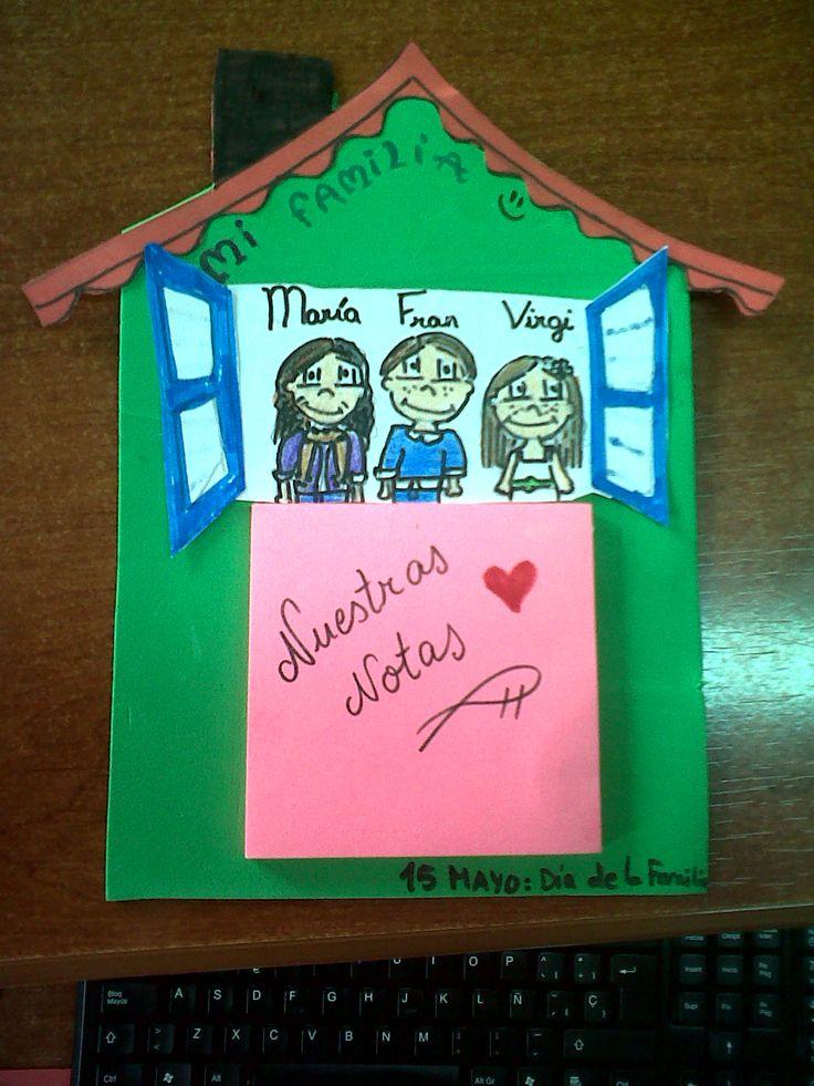 "ooOOoo--La Casita--ooOOoo: Dia de la Familia: ""Notas familiares"""