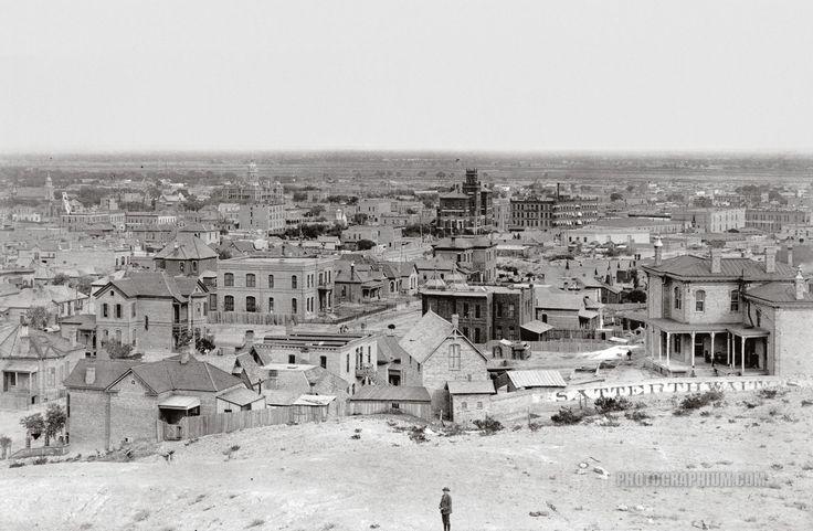 General view el paso texas 1870 1920 photographium for Great american el paso