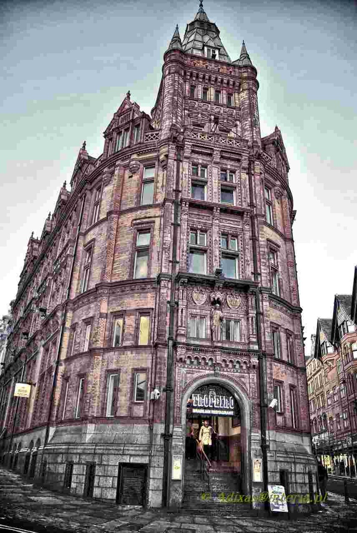 Nottingham, England; this building now houses Hard Rock Cafe.