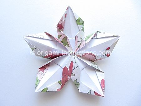 Best Origami Site Ever - Many, many patterns for all skill levels.  Origami Modular 5-Petal Flower