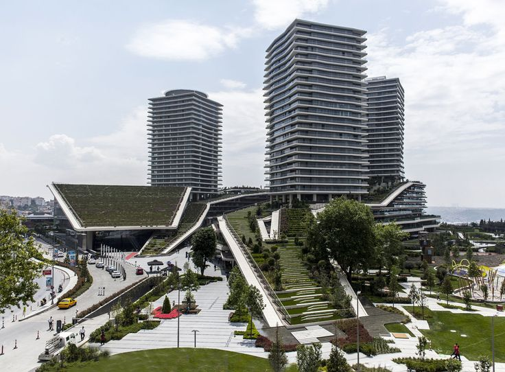 Emre Arolat Architects. Zorlu Center, Istanbul, Turchia, 2008