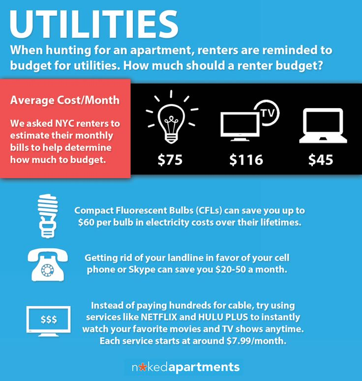 Average Utility Bill When Hunting For An Apartment Renters Are Often Reminded To Budget For Utilities But How Much Sh Apartment Cost Apartment Budget Renter