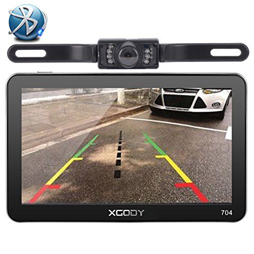 Xgody 704BT 7 Inch 8GB TFT LCD Capacitive Touchscreen SAT NAV Car GPS Navigation Free Lifetime Map Updates With Sunshade Wireless Backup Camera. For product info go to:  https://www.caraccessoriesonlinemarket.com/xgody-704bt-7-inch-8gb-tft-lcd-capacitive-touchscreen-sat-nav-car-gps-navigation-free-lifetime-map-updates-with-sunshade-wireless-backup-camera/