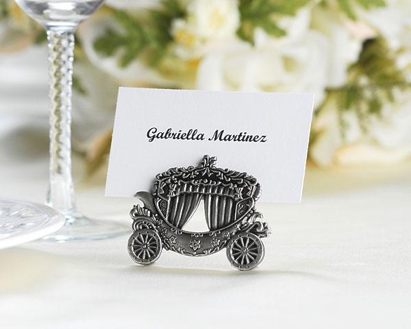 Fairy Tales Carriage Place Card Holder Fairytale Wedding